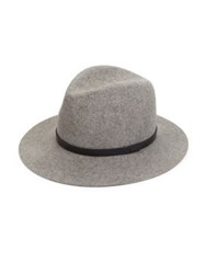 Rag And Bone Floppy Brim Wool Hat Almond Grey