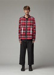 Craig Green 'S Plaid Shirt In Red Size Small 100 Cotton