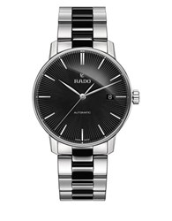 Rado Coupole Classic Stainless Steel And High Tech Ceramic Bracelet Automatic Watch Two Tone