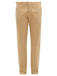Orlebar Brown Campbell Cotton Twill Chinos Brown