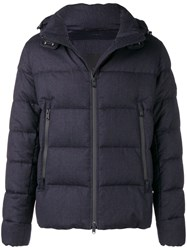 Tatras Padded Hooded Jacket Blue