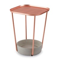 Umbra Tavalo Side Table Concrete Copper