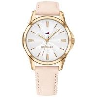 Tommy Hilfiger 1781954 'S Lori Leather Strap Watch Blush White