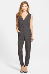 Sam Edelman Tie Back Wide Leg Jumpsuit Black