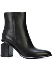 Alexander Wang Anna Ankle Boots Black