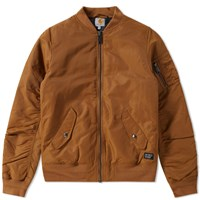 Carhartt Ashton Bomber Jacket Brown
