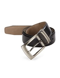 Tallia Orange Revesible Leather Belt Black