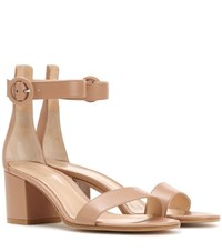 Gianvito Rossi Exclusive To Mytheresa.Com Versilia 60 Leather Sandals Beige