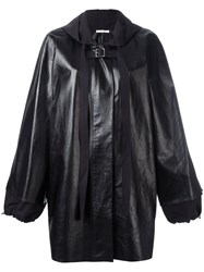 Celine Oversized Anorak With Buckle Fastening Black