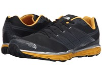 The North Face Litewave Tr Phantom Grey Tnf Yellow Men's Running Shoes Gray