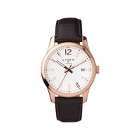Links Of London Greenwich Noon Brown Leather Watch Brown