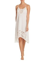 In Bloom North Star Lace Nightgown Ivory