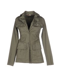 Fracomina Suits And Jackets Blazers Women Military Green