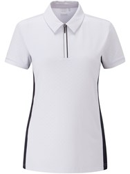 Ping Noa Short Sleeve Polo White