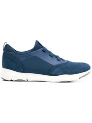 Geox Nebula Lace Up Sneakers Blue