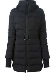 Herno Belted Padded Jacket Black