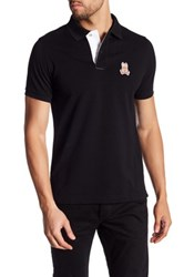 Psycho Bunny Cayman Pima Cotton Polo Black