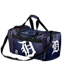 Forever Collectibles Detroit Tigers Core Duffle Bag Blue