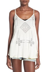 Women's Roxy 'Get Free' Graphic Tank Sand Piper