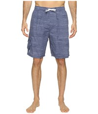 Tyr Micro Stripe Challenger Shorts Charcoal Men's Swimwear Gray