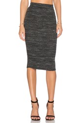 Lna Pernille Fitted Skirt Gray