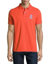 Psycho Bunny Alto Pima Polo Shirt Medium Red