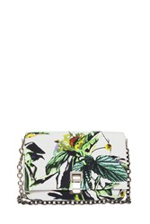 Proenza Schouler Small Floral Courier Bag Multi