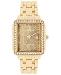 Inc International Concepts Women's Bracelet Watch 30X32mm Only At Macy's Gold Tone