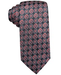 John Ashford Scott Medallion Tie Only At Macy's Red