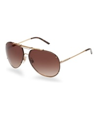 Dolce And Gabbana Sunglasses Dg2075 Gold Shiny Brown