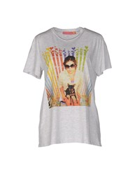 Agatha Ruiz De La Prada T Shirts Light Grey