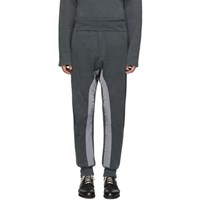 Haider Ackermann Grey Knit Pulau Lounge Pants