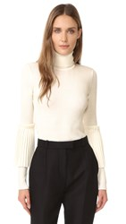 Salvatore Ferragamo Turtleneck Sweater White