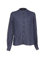 Xacus Shirts Shirts Men Slate Blue