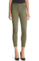L'agence Women's High Rise Skinny Ankle Jeans Picholine