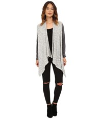 Rip Curl Temptation Cardigan Heather Grey Women's Sweater Gray