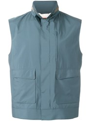 Loro Piana 'Sutton' Gilet Blue