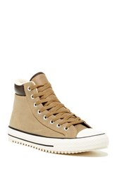 Converse Sand Dune Burnt High Top Boot Unisex Brown