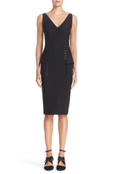 Yigal Azrouel Women's Lace Up Bustier Dress