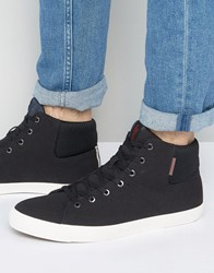 Jack And Jones Dunmore Hi Top Sneakers Black
