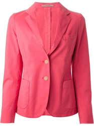 Boglioli Two Button Blazer Pink And Purple