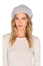 Suss Aila Slouchy Beanie Light Gray