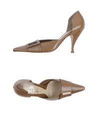 Michel Perry Pumps Sand