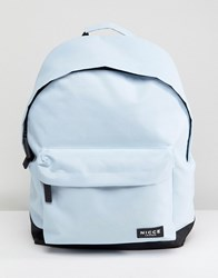 Nicce London Backpack In Light Blue