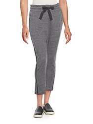 Rag And Bone Estella Jogger Pants Dark Heather Grey