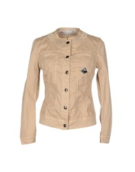 Roy Rogers Roy Roger's Coats And Jackets Jackets Women Sand