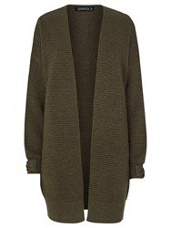 Sugarhill Boutique Lilly Cocoon Cardigan Khaki