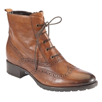 John Lewis Cambridge Leather Lace Up Ankle Boots Tan