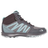 The North Face Litewave Fastpack Mid Gtx 'S Hiking Shoes Blackened Pearl Aqua