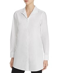 Foxcroft Shaped Tunic Shirt White
